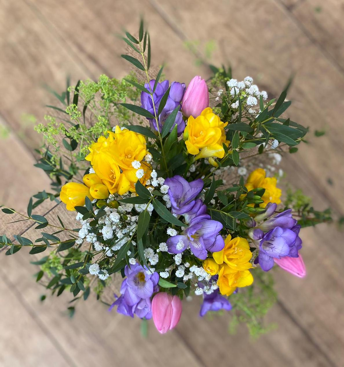 Bouquet freesias L